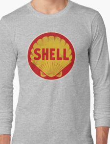Shell retro Long Sleeve T-Shirt
