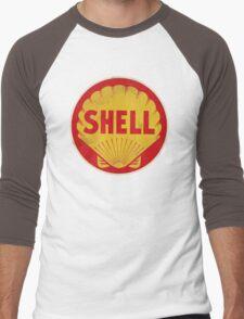 Shell retro Men's Baseball ¾ T-Shirt