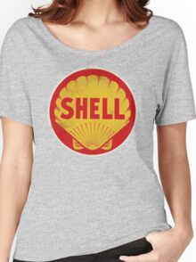 Shell retro Women's Relaxed Fit T-Shirt