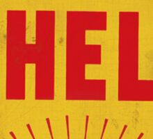 Shell retro Sticker