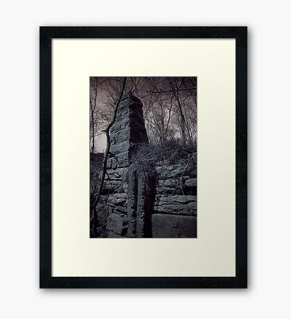 Ruins Base Framed Print
