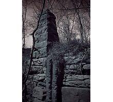 Ruins Base Photographic Print