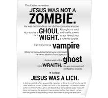 Holy Jesus #1 Poster