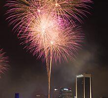 Fireworks In Pink by Joe Norman