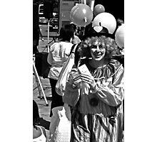 Clown 2 Photographic Print