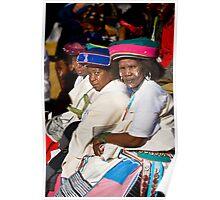Senior Xhosa Women. Poster
