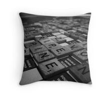 Playing Games Throw Pillow