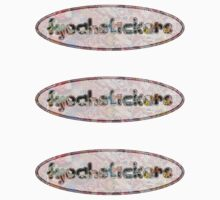 basic oval fyeahstickers - triple by fyeahstickers