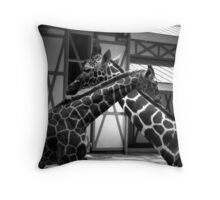 Niek and Mom Throw Pillow