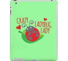 Crazy Ladybug LADY iPad Case/Skin