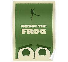 Freddy the Frog Poster