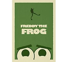 Freddy the Frog Photographic Print