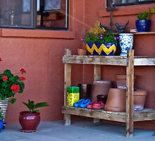 Potting Bench by Linda Gregory