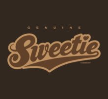 GenuineTee - Sweetie (brown) by GerbArt