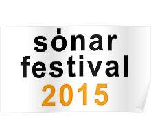 Sonar festival 2015 Poster