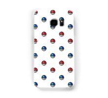 Pokeball Pixel Art Pattern  Samsung Galaxy Case/Skin