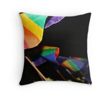 Rainbow Pride! Throw Pillow