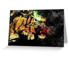 Panthera Tigris Greeting Card