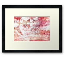 Michael in the Clouds Framed Print