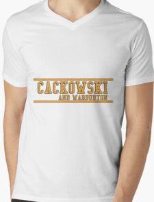 Community - Cackowski and Warburton Mens V-Neck T-Shirt