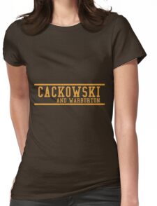 Community - Cackowski and Warburton Womens Fitted T-Shirt