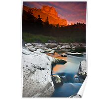 Smith Rock Gorge Poster