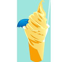Pineapple Dole Whip Photographic Print