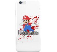 I Main Mario - Super Smash Bros. iPhone Case/Skin