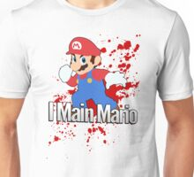 I Main Mario - Super Smash Bros. Unisex T-Shirt