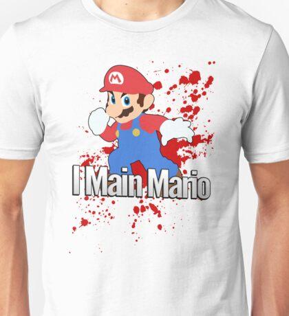 I Main Mario - Super Smash Bros. Unisex T-Shirt
