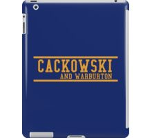 Community - Cackowski and Warburton iPad Case/Skin