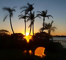 Skipping sunset by ♥⊱ B. Randi Bailey