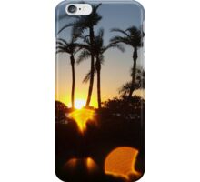 Skipping sunset iPhone Case/Skin
