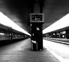Rome Railway Station by Vittorio Magaletti