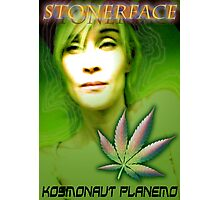 Stonerface2 Photographic Print