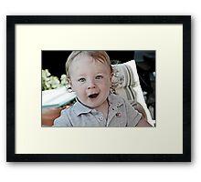The Little American Framed Print