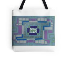 City Buildings as Archaeology Sketches Tote Bag