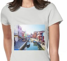 A View of Burano Womens Fitted T-Shirt