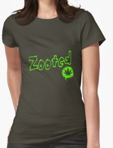 Zooted Womens Fitted T-Shirt