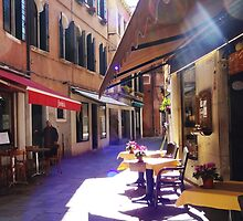 An Italian Café in the Heart of Venice  by elliephant28