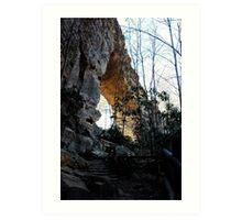 Gorge Arch Art Print