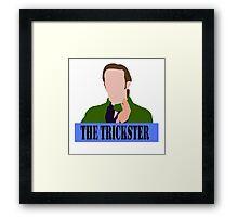 Gabriel The Trickster Framed Print