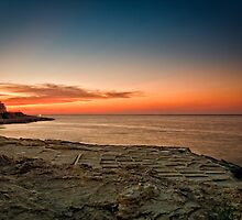 Maltese Sunset by Jakov Cordina