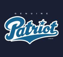 GenuineTee - Patriot (blue/white) by GerbArt