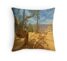 Nature`s Art Throw Pillow
