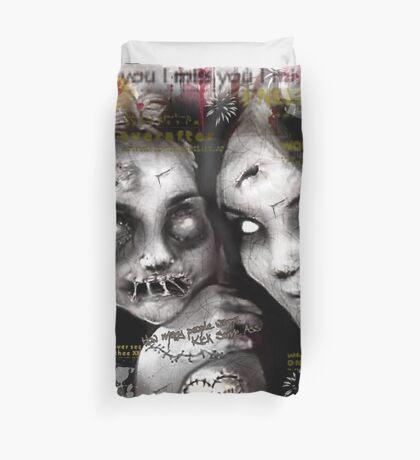 zombie girls Duvet Cover