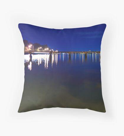 Crawley Edge Boatshed  Throw Pillow