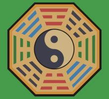 Yin and Yang and bagua by 4Seasons