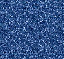 Blue Who Scroll by costumewrangler