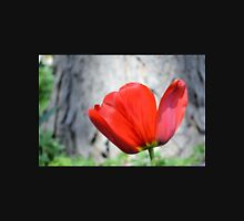 Two-Tone Red Tulip Unisex T-Shirt